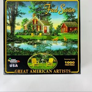 Fred Swan Great American Artists Puzzle 1000 pc